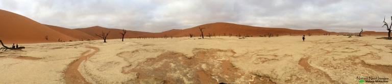 Deadvlei Panoramic - Sossusvlei, Namibia