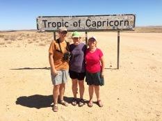 Reaching the Tropic of Capricorn
