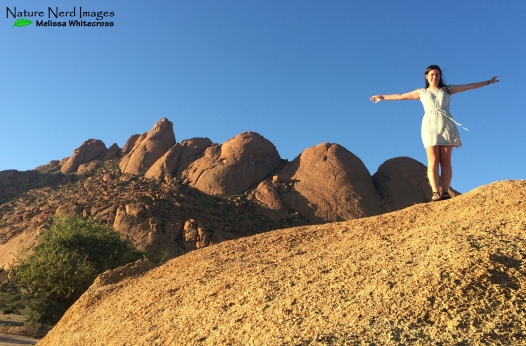 Me on the rocks at Spitzkoppe