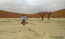 Mandatory jump photo