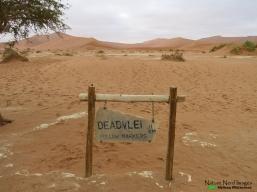 Deadvlei sign