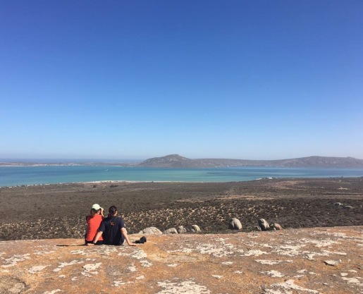 Enjoying the view at West Coast National Park