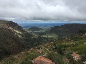 The view from Lenong in Marakele National Park