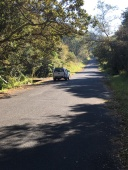 Parked in the Oribi Gorge