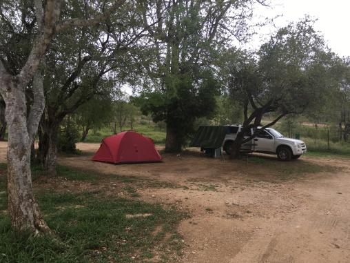 Our campsite at Maroela in Kruger National Park