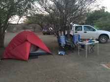 Our Balule campsite