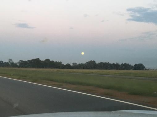 Sunrise near Carletonville