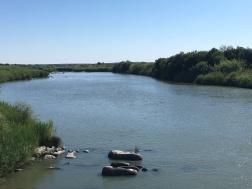 The mighty Orange River