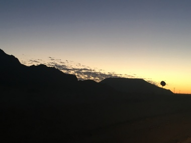 Another gorgeous sunrise photo with a Sociable Weaver sillouhette