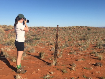 Me photographing in the Koa Dunes