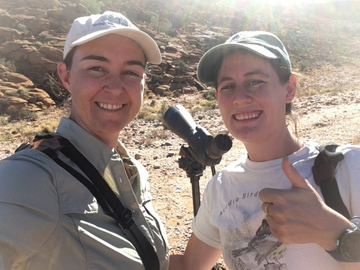 Happy birder's with lifer #3/4, Cinnamon-breasted Warbler