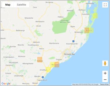 My atlassing map pre-survey
